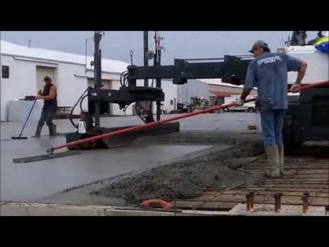 Pouring 250 Yards of Concrete in the Rain
