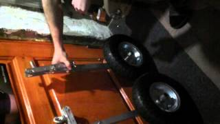 Транцевые колёса для пвх лодки(Транцевые колёса своими руками., 2015-02-01T14:42:53.000Z)