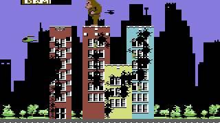 C64 Game - Rampage (US Version)