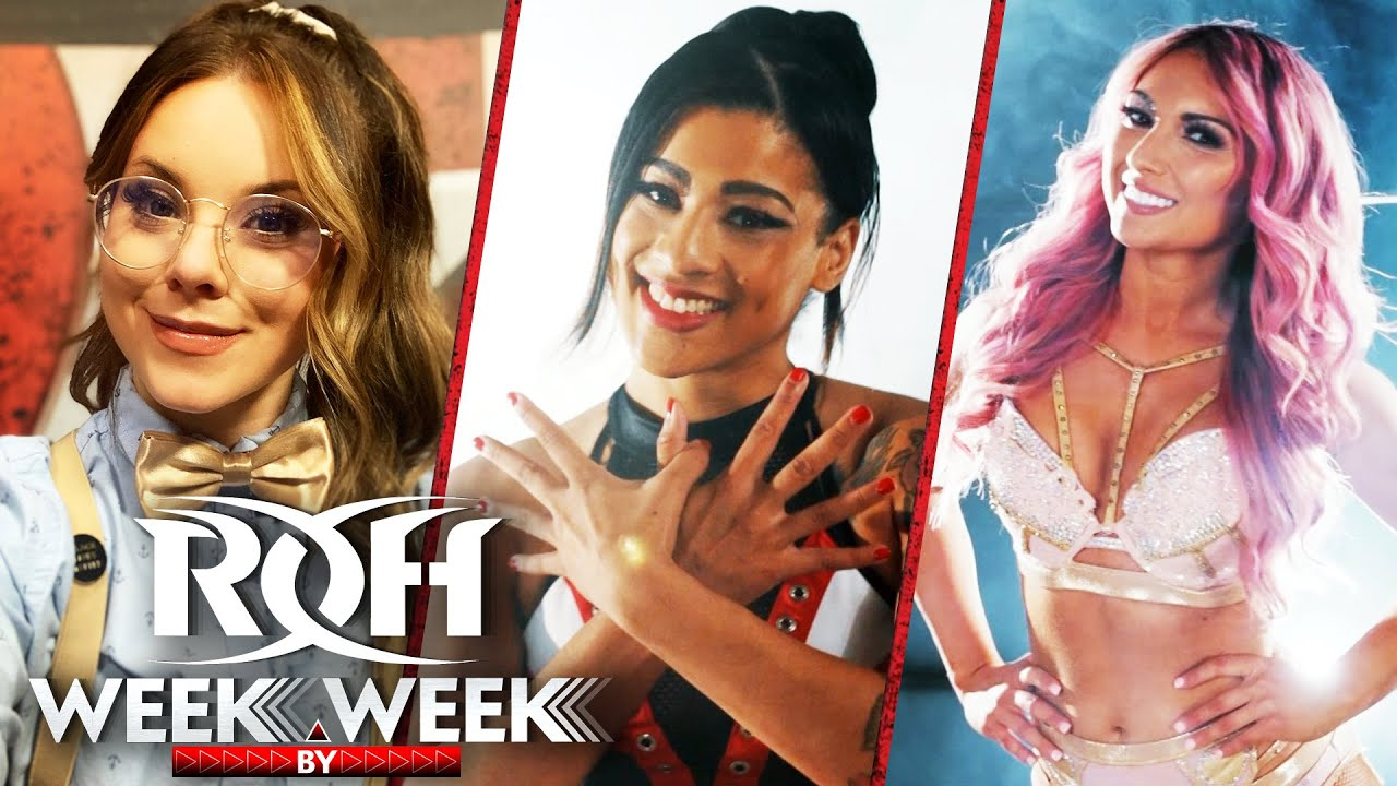 Download Women's Tournament Preview and Special Pure Rules Match on ROH Week By Week!