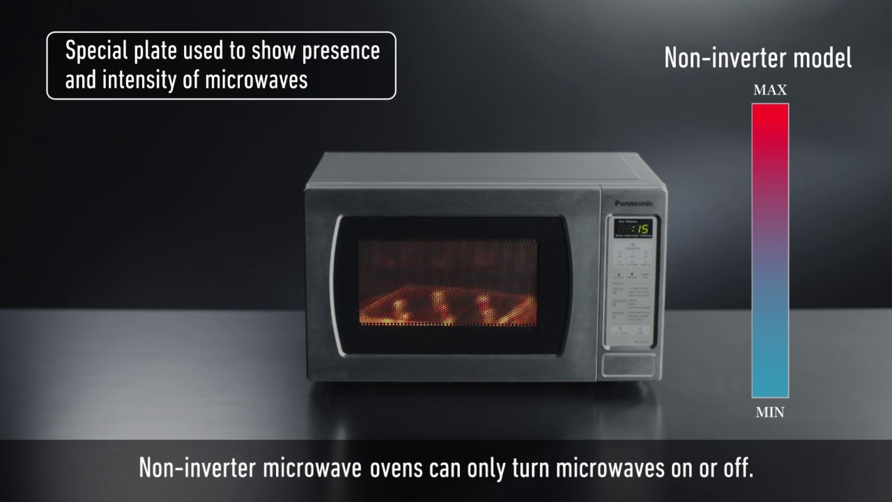 Panasonic Microwave Ovens Inverter Technology Youtube
