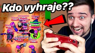 *EXTRÉMNÍ FIGHT* JÁ VS 9x MORTIS! 😳 🔥 | Brawl Stars