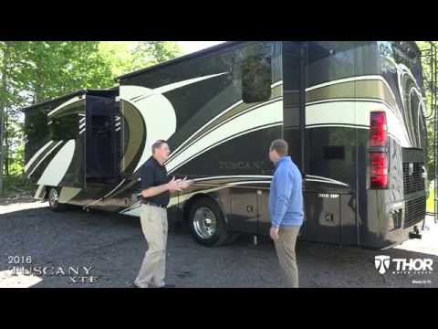 2016 Tuscany XTE Class A Diesel Pushers from Thor Motor Coach