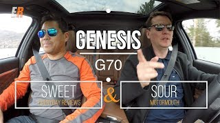 2019 Genesis G70 Review Sweet Sour