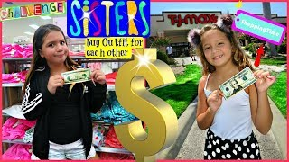 "THE $20 OUTFIT CHALLENGE "" SISTER BUY OUTFITS FOR EACH OTHER "" ALISSON&EMILY"