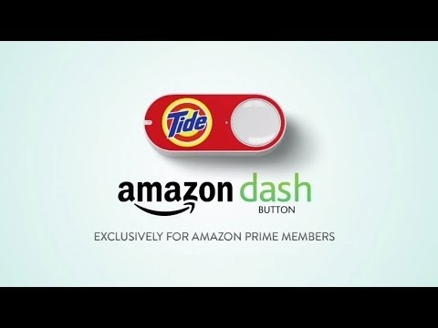 Testing Amazon Prime Dash Button Buying Tide Detergent   Test, Demo, Unboxing
