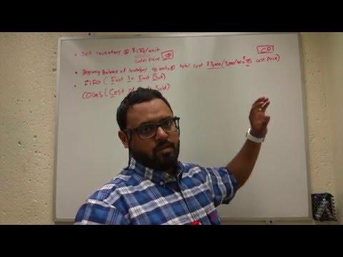 الدرس السادس_ المخزون و تكلفة البضاعة المباعة_ Inventory and Cost Of Goods Sold
