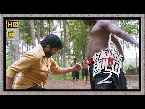 Dhilluku Dhuddu 2 Full Movie | Santhanam Full Actions | Santhanam Fights Scenes