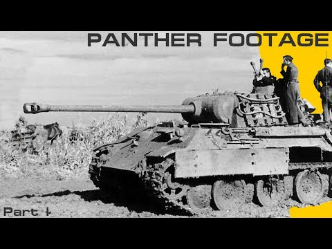 15minutes of Panther WW2 Footage Part 1