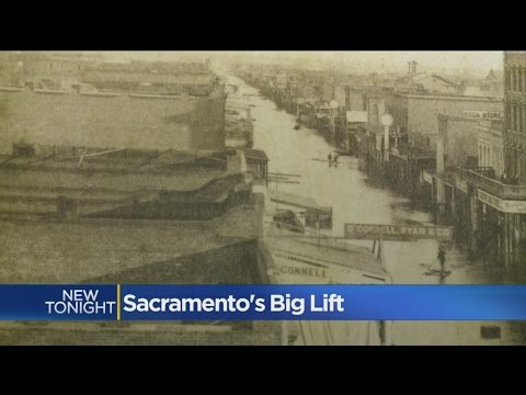Wet Sacramento Winter Reviving Memories Of 1860s Flood