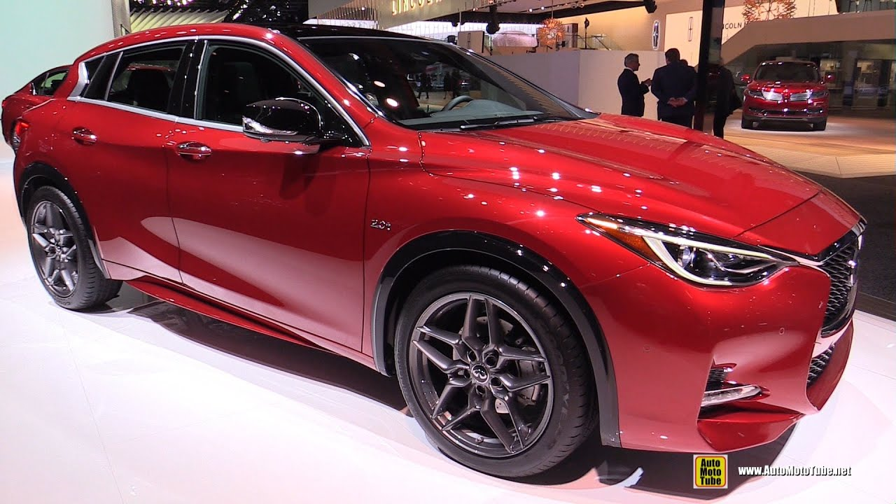 2017 Infiniti Qx30 S Awd 2 0t Exterior And Interior Walkaround 2016 Detroit Auto Show You