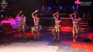Танцевальный коллектив Нота G на свадьбе