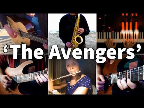 Who Played It Better: The Avengers Theme (Piano, Guitar, Saxophone, Flute, Electric Guitar)