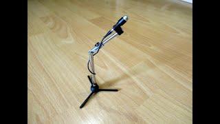 Как сделать крутой микрофон своими руками !