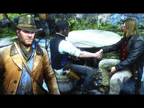 RDR2 Micah & Javier Shaking Hands (Javier's Betrayed Arthur) - Red Dead Redemption 2 thumbnail