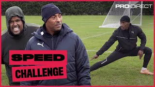 WHO'S FASTER? FILLY OR AN OLYMPIAN? CHUNKZ COLIN JACKSON SPEED CHALLENGE