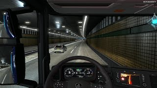 Euro Truck Simulator 2 - Driving from Amsterdam to Paris (One Truck Family Event) [4K 60FPS]