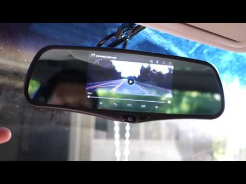 SmarTure 5'' Android Smart GPS Rearview Mirror REVIEW