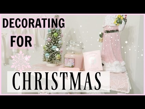 ❄Decorate With Me! Christmas 2016❄