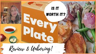 EVERYPLATE Unboxing & Honest Review   Meal Delivery Kits
