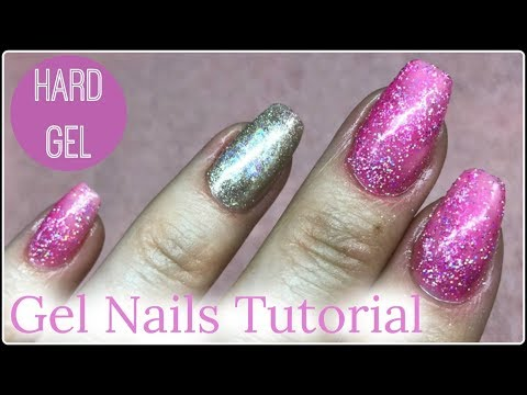 💅 Beginners Hard Gel Nails Tutorial Extend a Nail Without a Form 💅✔