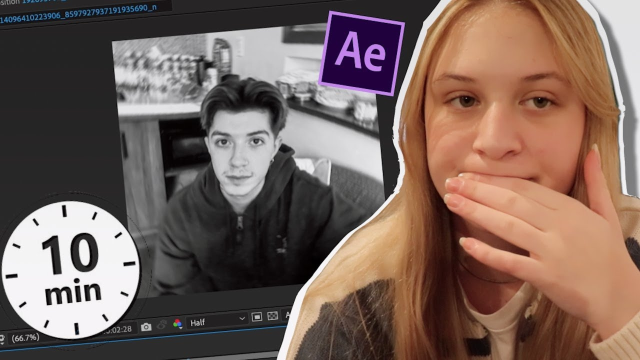 Download 10 minute (after effects) editing challenge!