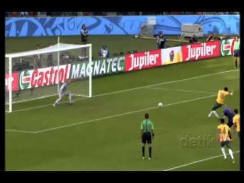 Netherlands vs Australia 2014 (3-2) All goals and Full Highlights Match WORLD CUP 2014 (Slide)