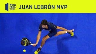 Juan Lebrón: MVP del Estrella Damm Open 2020