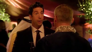 friends reunion joey and ross 2016 funny part