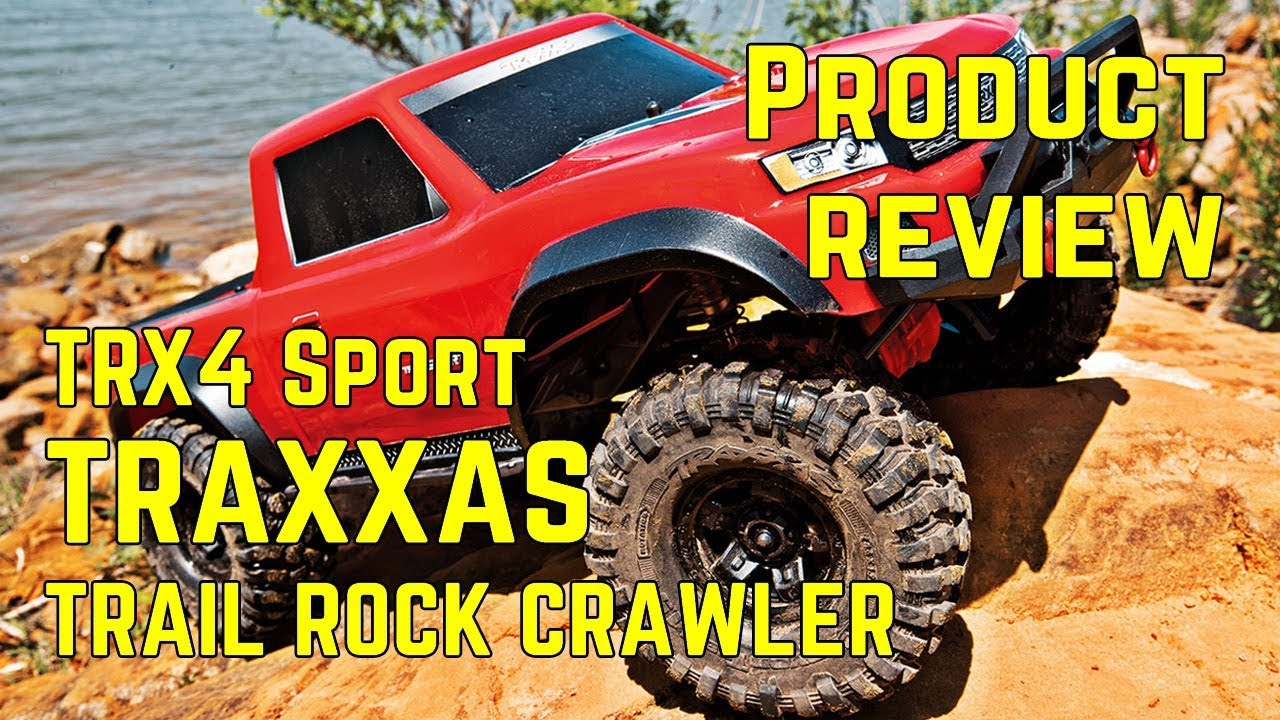 Traxxas TRX-4 Sport Trail Rock Crawler 1/10 scale - Product Review