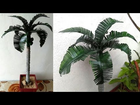 How to make palm tree - YouTube