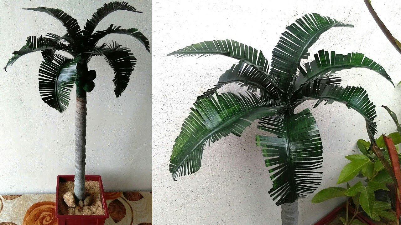 How To Make Palm Tree Youtube