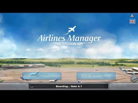 Airlines Manager Tycoon 2018 - Android Gameplay HD