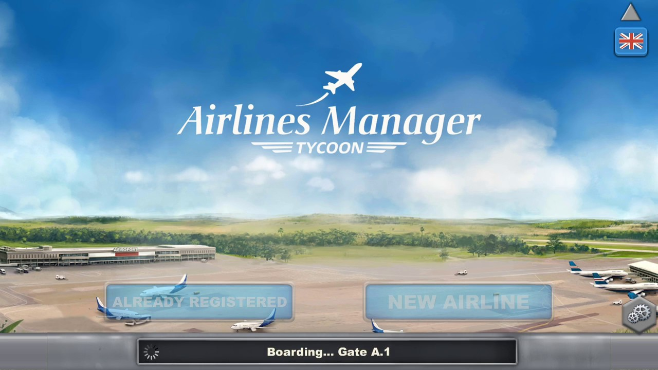 Airline Manager tycoon business simulation for android phone