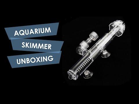 Aquarium Surface Skimmer Unboxing