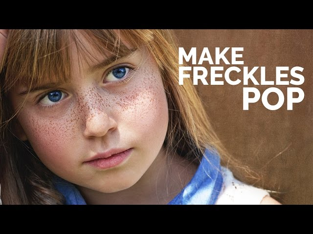 How to Enhance Freckles and Make them Pop in Photoshop #AskPiX