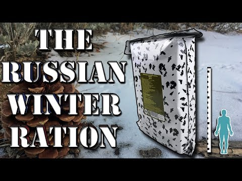 """""""Music"""" RUSSIAN WINTER RATION IRP-W 