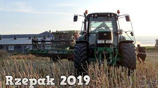 Czarne Żniwo - Rzepak 2019! ㋡John Deere 1470 & John Deere 6930☆ Wielkopolska☆ WielkoPolanie Team