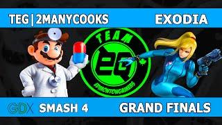 teg 2manycooks vs exodia gdx grand finals