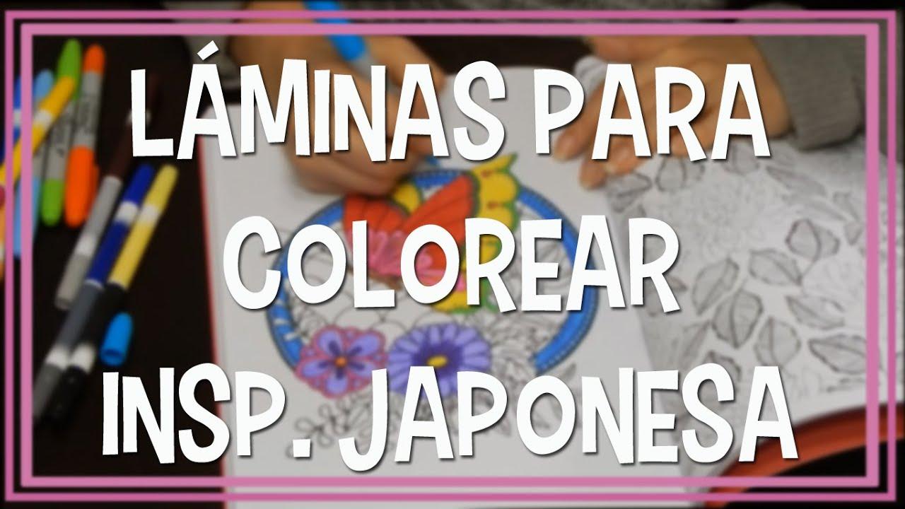 Arte Antiestrés || Libros para colorear #2 || Inspiración japonesa ...