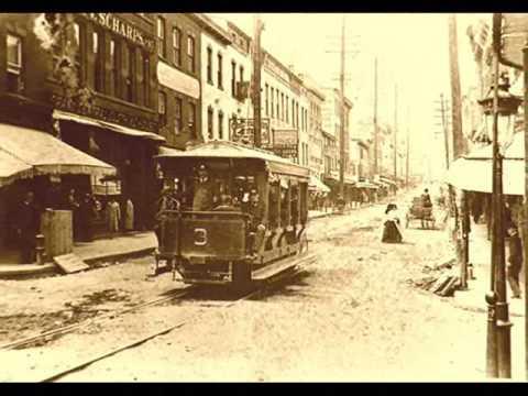 Storefronts Of Water Street * Newburgh, NY * 1880's * William Fullerton Jr.