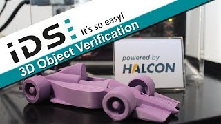 3D object verification with Ensenso and HALCON for Embedded Vision