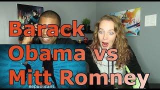 Barack Obama vs Mitt Romney  Epic Rap Battles Of History Season 2 (Reaction 🔥)