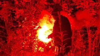 Защита от медведя и диких животных в лесу в пешем походе через хребет Березовый