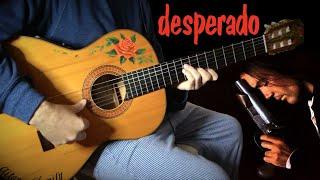 『Canción del Mariachi』(Desperado) meet flamenco gipsy guitar [Antonio Banderas fingerstyle cover]