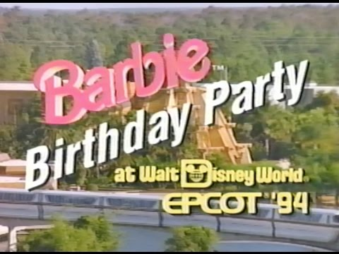 Barbie Birthday Party at Walt Disney World, EPCOT (1994)