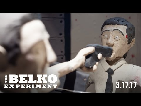 THE BELKO EXPERIMENT - CLAYMATION SHORT #1 (LEE HARDCASTLE)