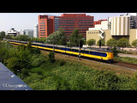 NS ICM Koploper trein langs het Alexandrium in Rotterdam!