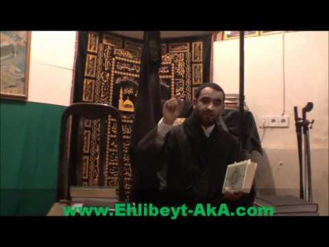 Shex Cavid Ahlibeyte 14 mesumu Tanimasan yerin cehnnemdir
