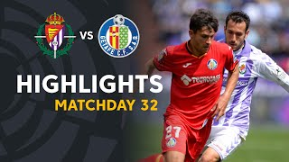 Highlights Real Valladolid vs Getafe CF (2-2)